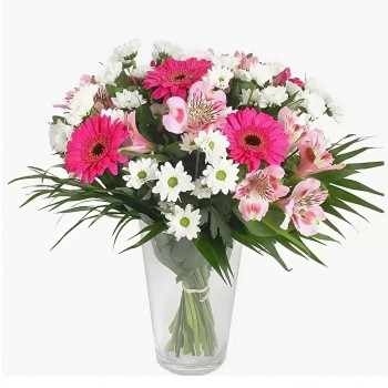 Flower bouquet: Summer tenderness